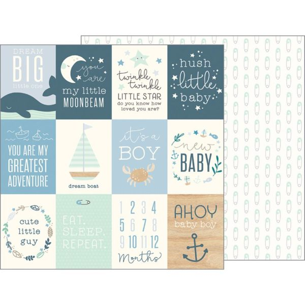 Ahoy Baby Boy! Cards (Night Night Baby Boy)
