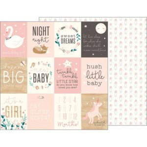 Sweet Baby Girl Cards (Night Night Baby Girl)